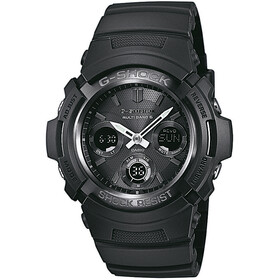 CASIO G-SHOCK AWG-M100B-1AER Watch Men, black